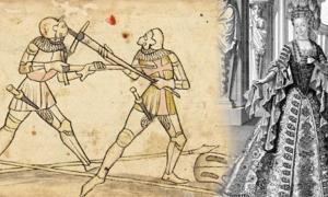 "Portada - Página del Codex Wallerstein (Public Domain) ""Mademoiselle Maupin de l'Opéra"". Grabado anónimo, c. 1700. (Public Domain)"