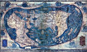 "Portada-Mapamundi-El mapamundi de ""Henricus Martellus Germanus"" (Heinrich Hammer) - (Wikimedia Commons).jpg"