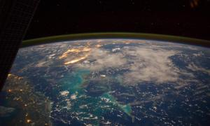 El mar Caribe desde el espacio (NASA Marshall Space Flight Center / Flickr)