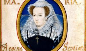 Portada - María I de Escocia retratada entre 1578 y 1579 durante su cautiverio por Nicholas Hilliard (1547-1619).Victoria and Albert Museum de Londres, Inglaterra. (Public Domain)
