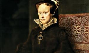 """Portada-Detalle del cuadro """"Retrato de María Tudor"""". Óleo sobre tabla obra de Antonio Moro. Museo del Prado. Madrid, España. (Wikimedia Commons)"""