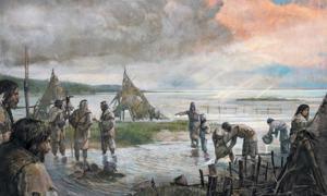 Portada-los habitantes Mesolíticos de Doggerland (Alexander Maleev)