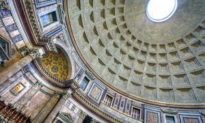 Portada - Oculus y techo del Panteón de Roma, Italy Photograph. Fotografía: Anne Dirkse (CC BY-SA 4.0)