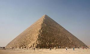 Portada-La Gran Pirámide de Guiza. (BigStockPhoto)