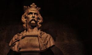 Portada - Busto del rey Robert Bruce. Fuente: Wayman/ DeviantArt