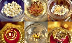 Portada - Algunas supuestas reliquias budistas obtenidas después de la cremación. (Fotografía: La Gran Época)