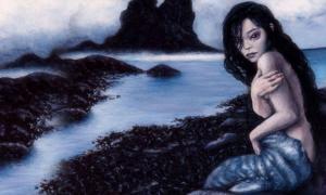 Portada - Las selkies, randes olvidadas de los mitos del mar (Gwillieth / DeviantArt)