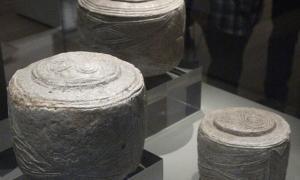 Portada-Los Tambores de Folkton fueron descubiertos en East Yorkshire, Inglaterra, y se encuentran expuestos en el Museo Británico. (Foto: Johnbod/Wikimedia Commons)