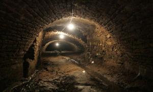 Portada-Los túneles subterráneos recién descubiertos en Puebla. (Captura de pantalla del vídeo de The Telegraph en YouTube)