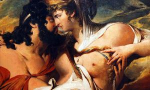 Portada-Zeus y Hera. James Barry. (Wikimedia Commons)