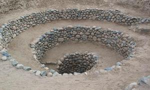 Portada-Entrada a uno de los acueductos de Nazca, denominados puquios. Fotografía: (Public Domain)