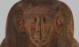 Portada - Este antiguo ataúd egipcio no estaba vacío como se creía hasta ahora. Fuente: ABC