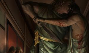 Portada - 'La masacre del Senado' ('Ethically Challenged / DeviantArt')