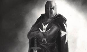 Portada - Representación moderna de un Caballero Hospitalario. Fuente: MrElagan/Deviant Art