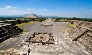 Portada - Teotihuacán, México. Fuente: Dominio público