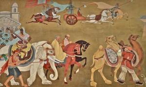 Portada-Caravanas comerciales recorren la antigua Ruta de la Seda. (Public Domain)