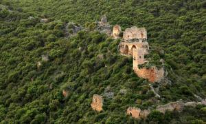 Portada - Vista panorámica de las ruinas del Castillo de Montfort en Galilea (Israel). (Eran Feldman/CC BY-SA 3.0)