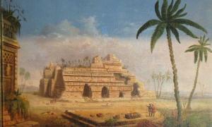 Portada - Ruinas mayas, Yucatán (1848), óleo de Robert S. Duncanson. (Public Domain)