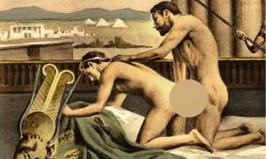 Portada - numerosos registros históricos sugieren que a los hombres adultos de la antigua Grecia les gustaba mantener relaciones sexuales con jóvenes adolescentes. (Dominio público)