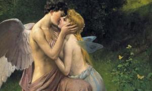 """Portada - Friedrich Paul Thumann, (1834-1908), """"Cupido (Eros) y Psique."""" (Sofi/CC BY NC 2.0)"""