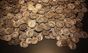 Portada - Monedas de oro romanas (Imagen meramente representativa). Fuente: CC0