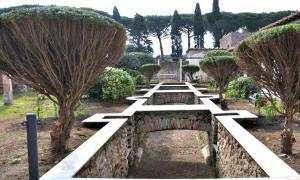 Portada-Jardines y termas de la restaurada domus de Giulia Felice, en Pompeya. (Fotografía: ABC)