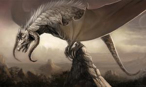 Portada - Ilustración de un dragón para el Proyecto Durian de la Fundación Blender (Public Domain)