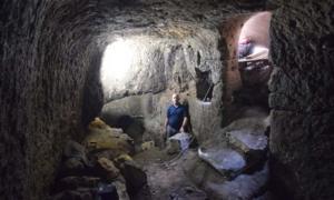 Portada - Establos de la época romana descubiertos en la población galilea de Eilabun, Israel. Fotografía: Autoridad de Antigüedades de Israel