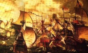 Portada - Armada española, año 1577 (Dominio público)