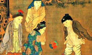 Portada - Detalle de 'Cien niños en la larga primavera' (长春百子图), pintura del artista chino Su Hanchen (苏汉臣, activo entre los años 1130 y 1160d. C.), dinastía Song. Museo del Palacio Nacional de Taipei. (Public Domain)