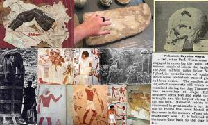 Portada - Las evidencias sugieren la posibilidad de que existieran gigantes en el antiguo Egipto. Fuente: Hugh Newman