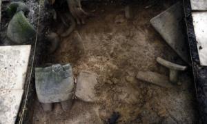 Portada-Objetos recién descubiertos en las antiguas ruinas de Honduras que se cree pertenecen a la antigua y legendaria 'Ciudad Blanca'. Fotografía: El Tiempo