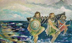 Portada - La invasión de los milesios, Maura O'Rourke. (The Progressive Influence)