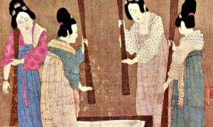 Portada-Mujeres de la antigua China lavando ropa (Fotografía: La Gran Época/WeChat)