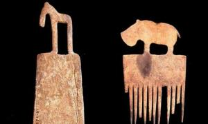 Portada - Dos lendreras recuperadas de la tumba real 72 de Hieracómpolis. (Fotografía: El Diario/ Hierakonpolis Expedition/EFE)