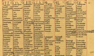 Portada-Manuscrito del siglo XII con material copiado de otros textos más antiguos: una importante fuente de información para la profesora Dickey en su investigación. Fotografía: Zisterzienserstift Zwettl