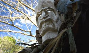 Portada-Máscara artesanal boruca, Buenos Aires de Puntarenas, Costa Rica. (Rodtico21/CC BY-SA 4.0)