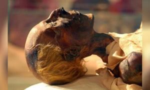 Portada - El cuerpo momificado del faraón egipcio Ramsés el Grande. (CC by SA 4.0)
