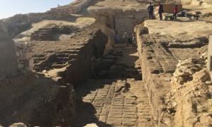 Portada - La necrópolis del Imperio Medio recientemente descubierta en El-Lisht, Egipto. Fuente: Ministerio de Antigüedades de Egipto