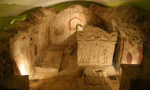 Portada - Mausoleo cristiano primitivo en la necrópolis de Pécs. Fuente: (Mehlich, J/CC BY 3.0)