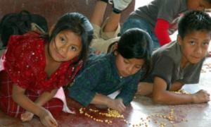 Portada-Niños de Yucatán en la escuela. (Fotografía: La Capital)