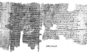 Portada - Los antiguos papiros egipcios con textos mágicos han sido finalmente traducidos después de 1.700 años.