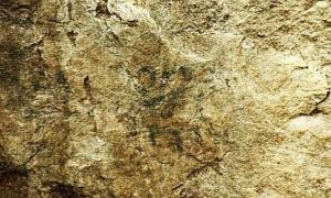 Portada - Pinturas rupestres preincas descubiertas hace tres semanas en Machu Picchu. (Fotografía: OJO)