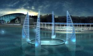 Portada-El ambicioso diseño propuesto para el museo sumergido de antigüedades proyectado para su construcción en la bahía de Alejandría, Egipto. Imagen: ©UNESCO/Rougerie