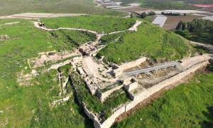Portada - La estructura de la puerta, al descubierto en el Parque Nacional de Tel Lachish. (Fotografía: LiveScience/Guy Fitoussi/Autoridad de Antigüedades de Israel)