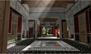 Portada - Reconstrucción digital de una vivienda pompeyana. (Proyecto Pompeya)
