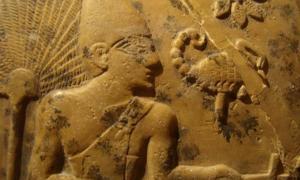 Portada - Rey Escorpión, detalle del relieve de su maza, Museo Ashmolean, Oxford. (CC BY-SA 3.0)