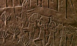 Portada-¿Qué le sucedió a la antigua ciudad elamita de Haft Tappeh? Detalle del relieve del saqueo de Susa. (CC BY-SA 3.0)