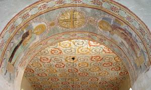 Portada - Fresco de la iglesia de Gärde. Fuente: Jurgen Howaldt / CC BY-SA 2.0