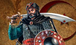 Portada - Recreación artística del sultán Baibars I, cuarto sultán mameluco de Egipto y Siria y fundador de la dinastía Bahri. (Jangelles)